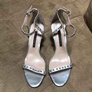 French Connection size 10 studded heels
